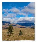 Eastern Sierras 28 Pano Fleece Blanket