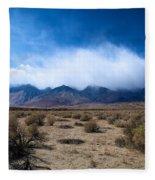 Eastern Sierras 3 Fleece Blanket