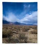 Eastern Sierras 4 Fleece Blanket