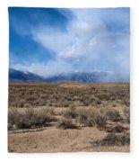 Eastern Sierras 8 Fleece Blanket