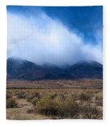 Eastern Sierras Fleece Blanket