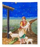 Eastern Star Fleece Blanket