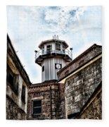 Eastern State Penitentiary Guard Tower Fleece Blanket