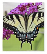 Eastern Swallowtail  Fleece Blanket