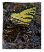 Eastern Swallowtail Fleece Blanket