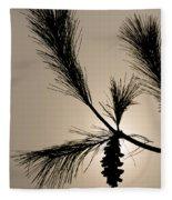 Eastern White Pine Fleece Blanket
