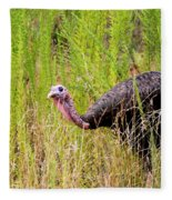 Eastern Wild Turkey - Longbeard Fleece Blanket