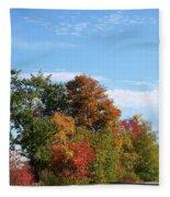Eastman Lake Trail Fleece Blanket