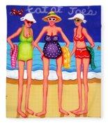 Eat At Joes - Beach Gossip Fleece Blanket