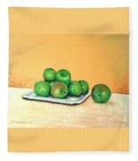 Eat Green Fleece Blanket