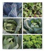 Eat Your Greens Fleece Blanket