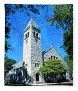 Eaton Chapel Fleece Blanket