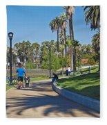 Echo Park Los Angeles Fleece Blanket