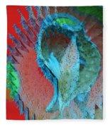 Echoing Seed Pod  Fleece Blanket