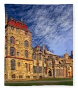 Eclectic Castle Fleece Blanket