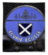 Ecurie Ecosse Badge Fleece Blanket
