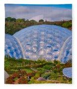 Eden Project Biomes Fleece Blanket
