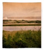 Edgartown Lighthouse Fleece Blanket