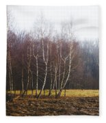 Edge Of The Forest Fleece Blanket