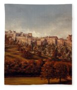 Edinburgh  Castle Fleece Blanket