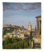 Edinburgh Sunrise Fleece Blanket