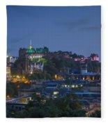 Edinburgh Twilight Fleece Blanket