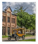 Edison Model T Ford Fleece Blanket