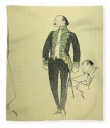 Edmond Rostand (1868-1918) Fleece Blanket