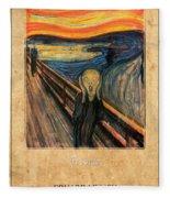 Edvard Munch 1 Fleece Blanket