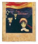 Edvard Munch 2 Fleece Blanket