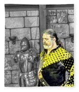 Edward I V Of England Fleece Blanket