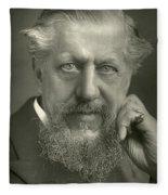 Edwin Arnold (1832-1904) Fleece Blanket