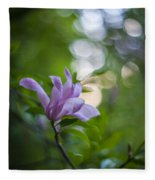 Effervescent Magnolia Fleece Blanket