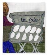 Egg Crate Fleece Blanket