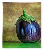 Eggplant Fleece Blanket