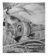 Ego-bird-fish Nesting Ground Fleece Blanket