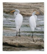 Egrets 4649 Fleece Blanket