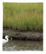Egret's Catch Fleece Blanket