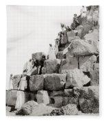 Egypt C1890 Fleece Blanket