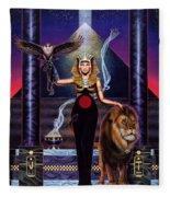 Egyptian Queen Fleece Blanket