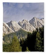Eibsee Bavaria Germany Fleece Blanket