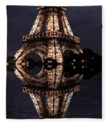 Eiffel Tower-2 Fleece Blanket