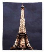Eiffel Tower-1 Fleece Blanket