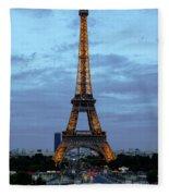 Eiffel Tower Fleece Blanket