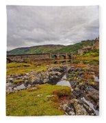 Eilean Donan Castle Dornie Fleece Blanket