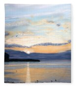 Eileen's Sunset Fleece Blanket