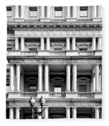 Eisenhower Executive Building Fleece Blanket