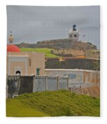 Scenic El Morro Fleece Blanket