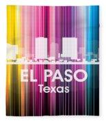 El Paso Tx 2 Fleece Blanket