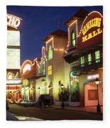 El Rancho Vintage Vegas Fleece Blanket